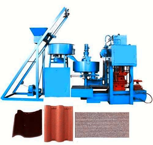 TRQ4-32 Brick Forming Machine